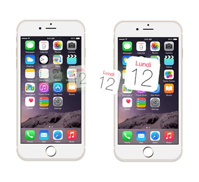 Comment transférer calendriers d'un ancien iPhone vers un nouvel