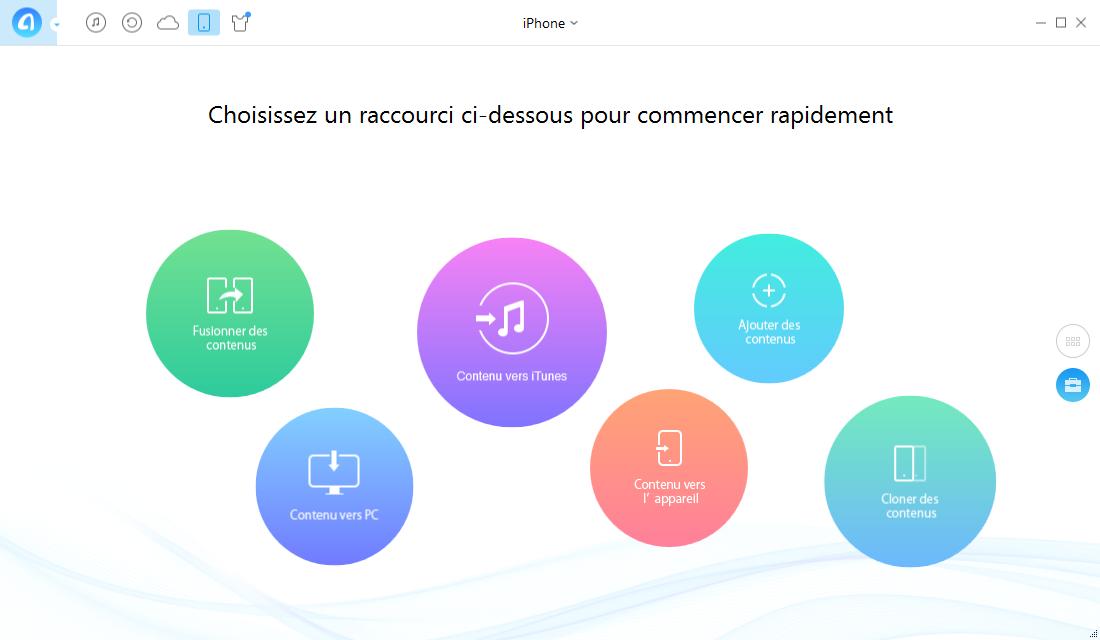 Transférer les signets de Safari sur PC vers iPhone – étape 1