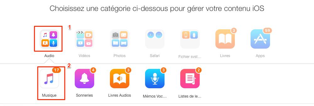 Transfert de musique iPod vers iPod