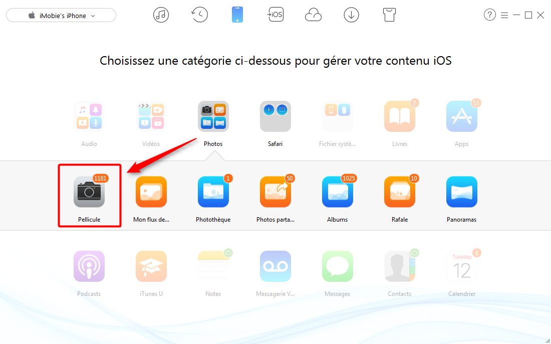 comment transf u00e9rer les photos iphone vers pc