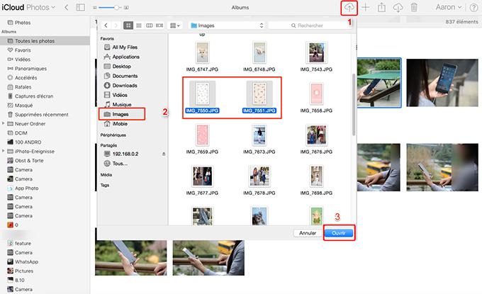Transférer les photos Mac vers iPad avec iCloud