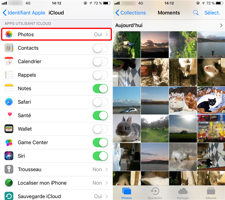 Comment importer les photos d'Android vers iCloud - étape 4