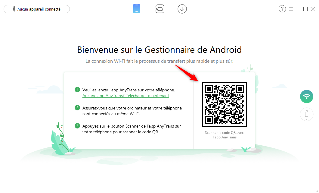 Transférer les photos Android vers PC via WiFi