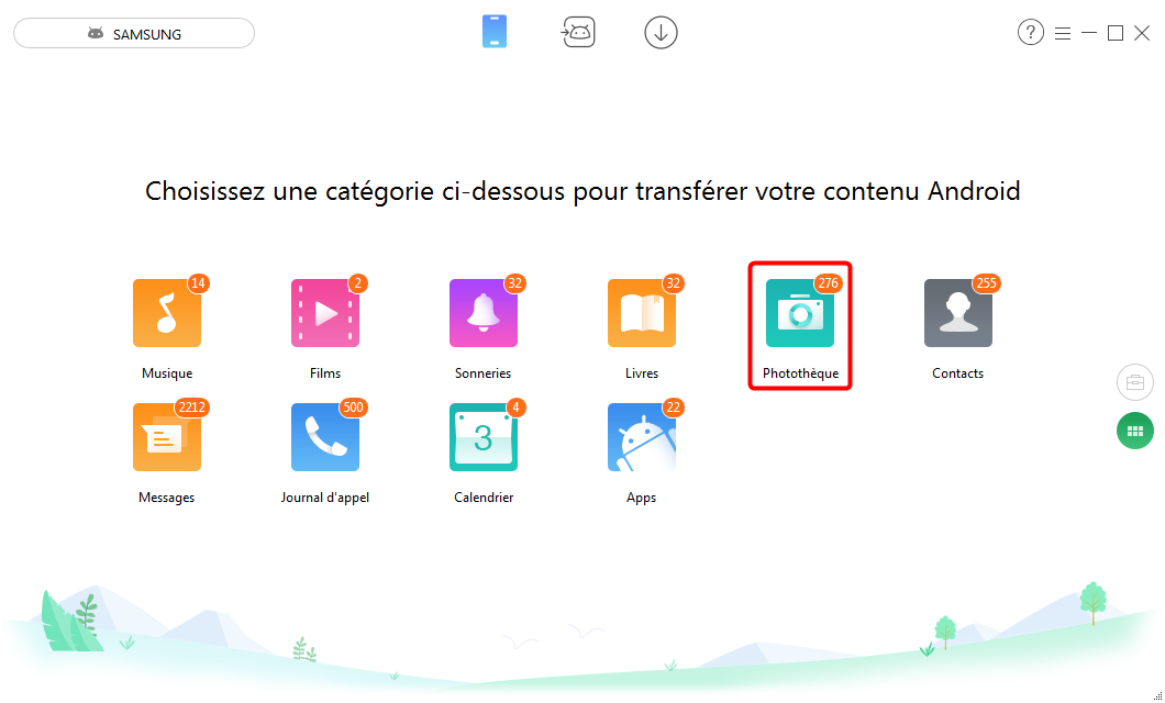 Transférer les fichiers Android vers PC via WiFi