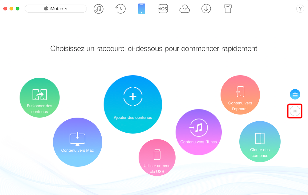 Comment transférer les photos iPhone X vers Mac – étape 1