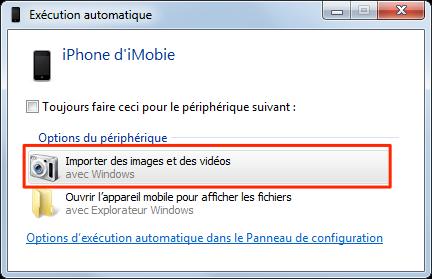 Comment transférer des photos de l'iPod touch vers l'ordinateur - étape 3