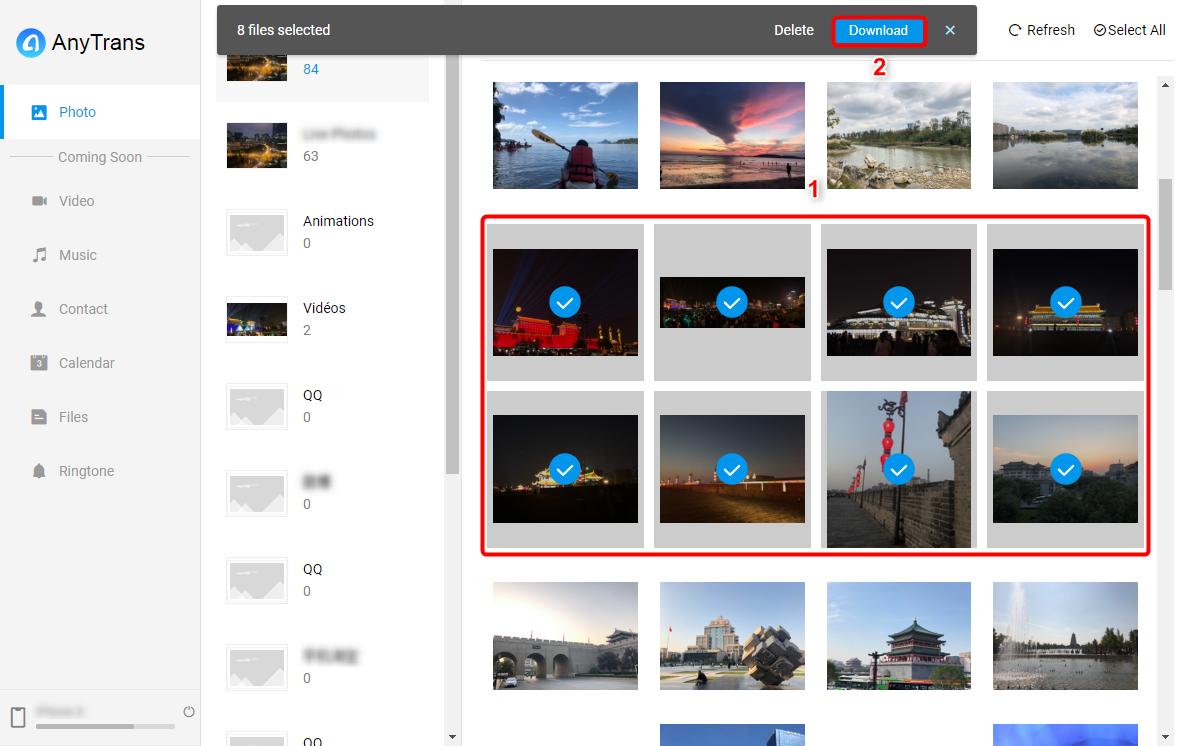 Transférer les photos Samsung vers Mac sans fil