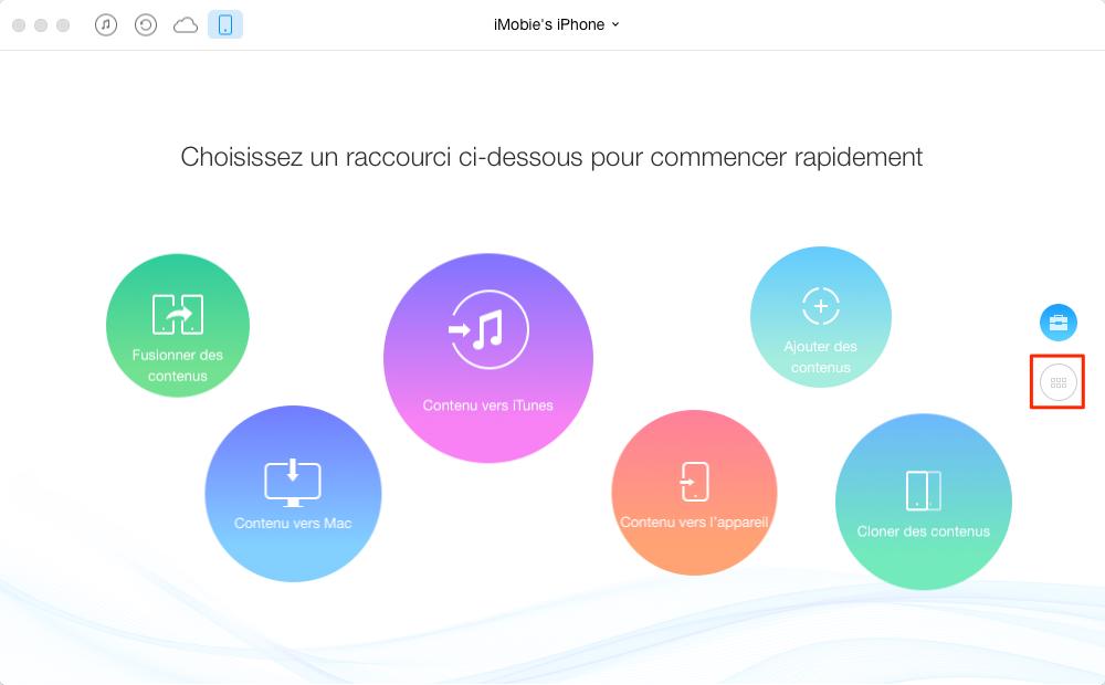 Comment transférer les signets de Safari iPhone vers Mac – étape 1