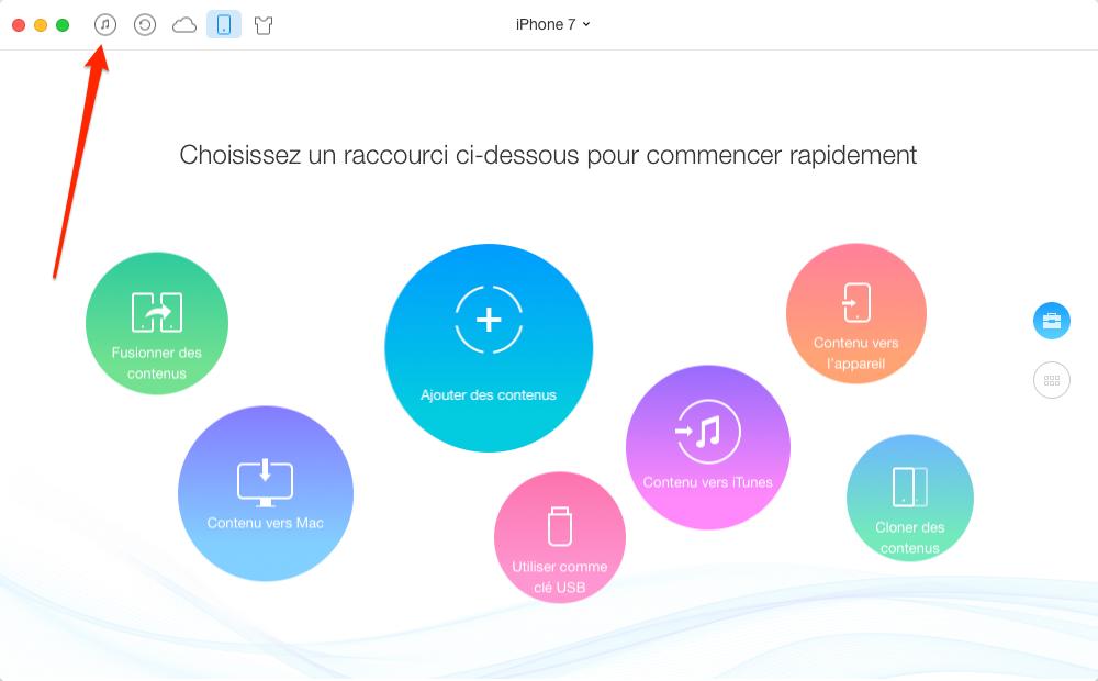 Comment transférer vidéo iTunes vers iPhone sans synchronisation – étape 1