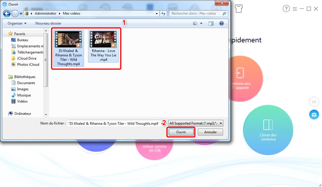 Comment copier des films d'un PC vers un iPad avec AnyTrans