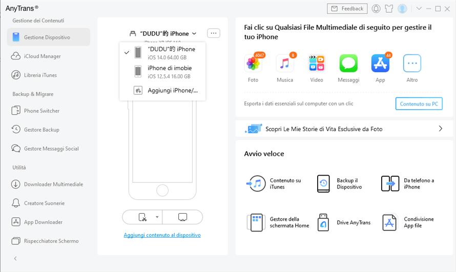 collega due iphone