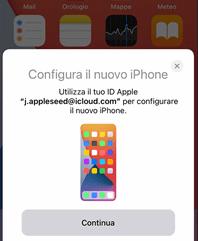 configurare nuovo iphone(da Apple)
