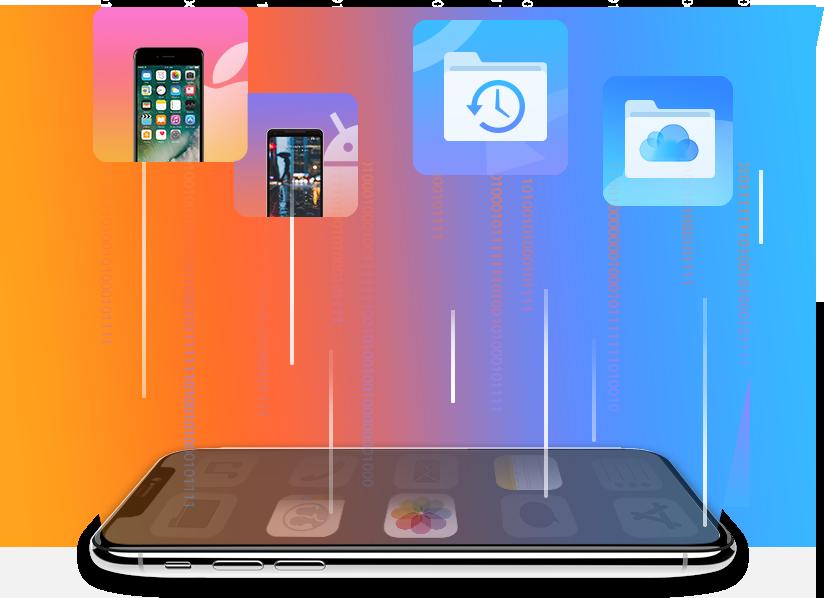 AnyTrans for iOS - 万能なiPhoneファイルマネージャー