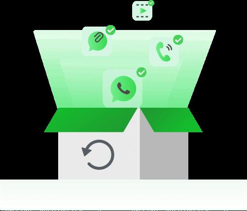 Whatsappチャットを自由にプレビュー&復元する