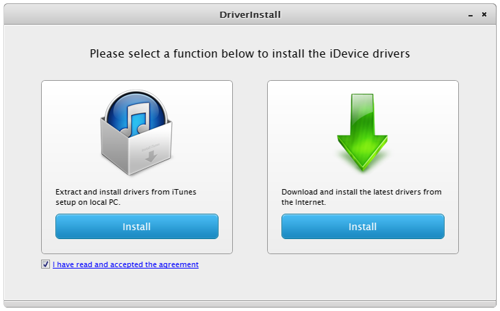 How to Install iDevice Driver