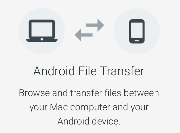 Android File Transferを利用する