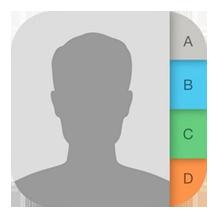 iPhoneの電話帳をバックアップする方法