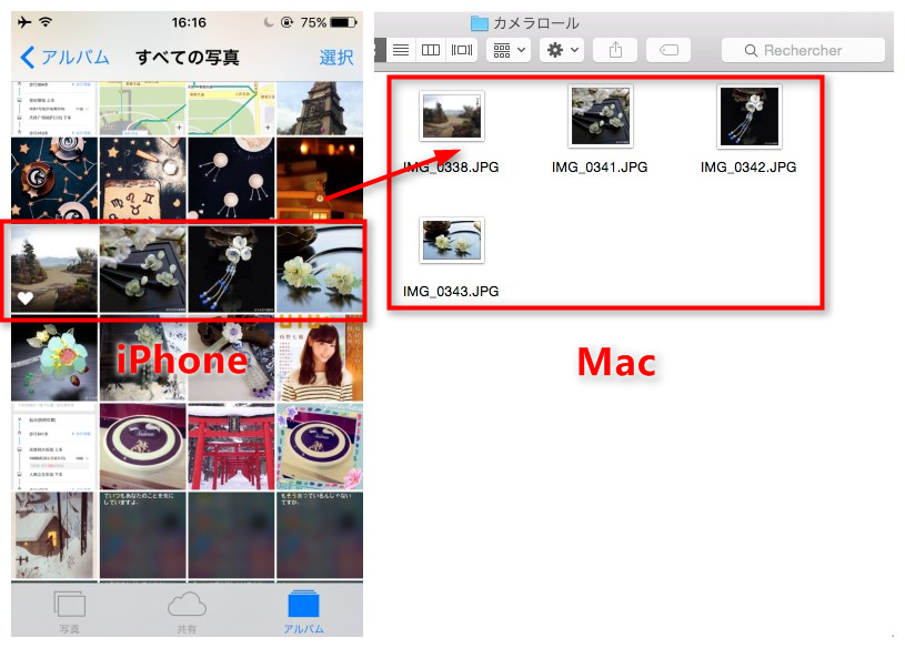 AnyTransでiPhoneからMacに写真をバックアップする