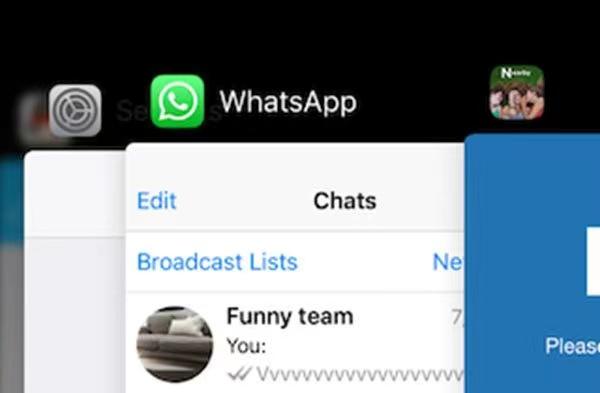 写真元:apeaksoft.com -WhatsAppを再起動する