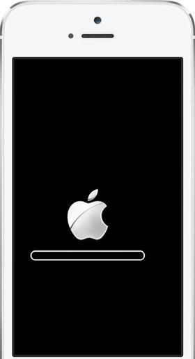 iOS 8の故障– アップルロゴから動けない