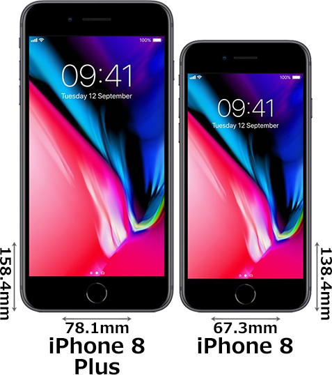 iPhone 8とiPhone 8 Plusの違い - 1 写真元:photosku