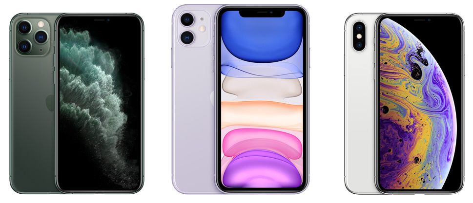 iPhone 11 Pro,iPhone 11,iPhone XS,iPhone XR,iPhone XとiPhone 8どっちが買いたい