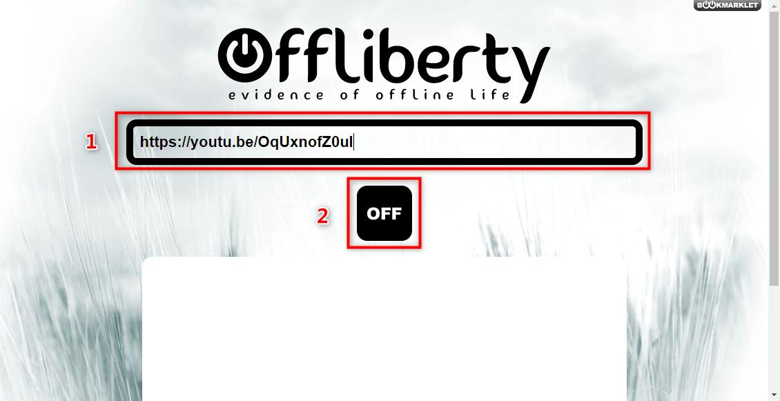 OfflibertyにURLをコピー