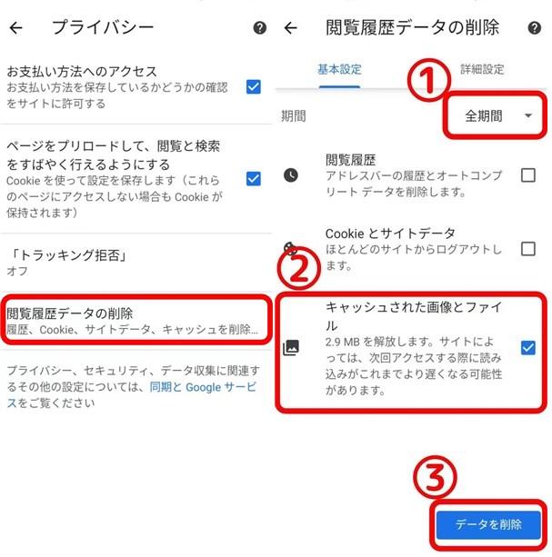 写真元: mag.app-liv.jp -アプリごとの削除方法