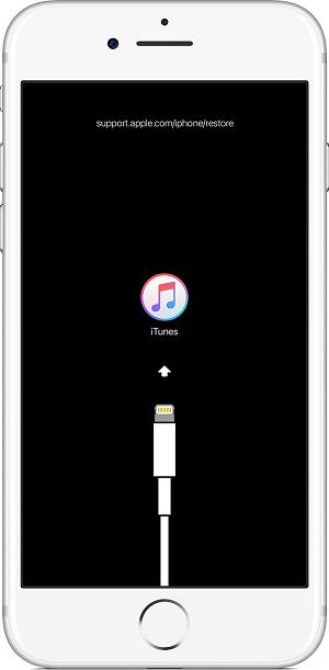 iPhoneがリカバリーモードから復元できない