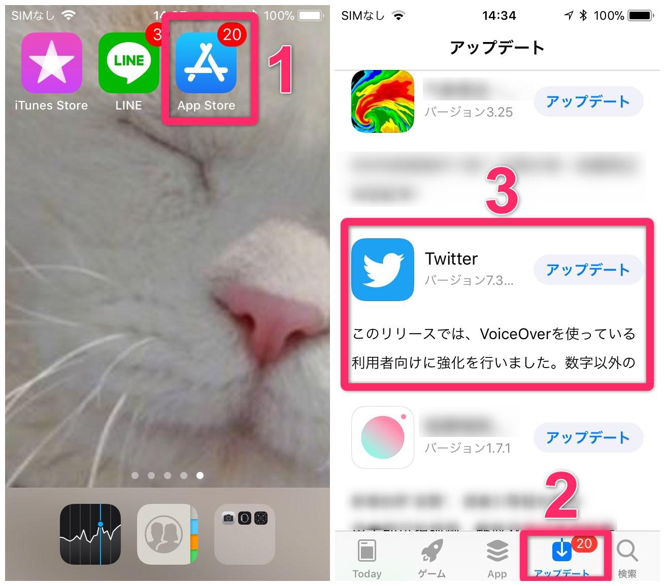 iPhoneアプリの詳細情報を確認する方法