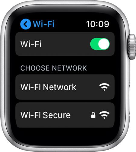 Apple Watch入門-WiFiを接続するについて
