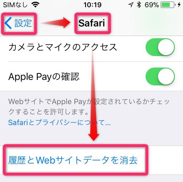 iOS 12でSafariの動作が遅いバグの対処法