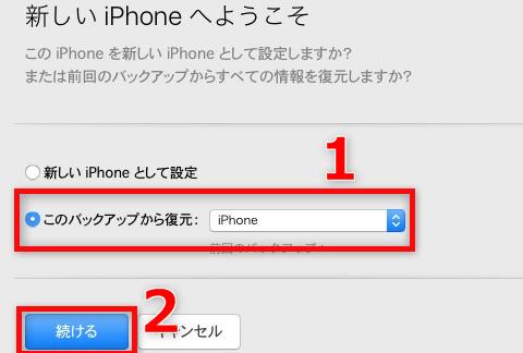 iOSをクリーンインストールする方法 5