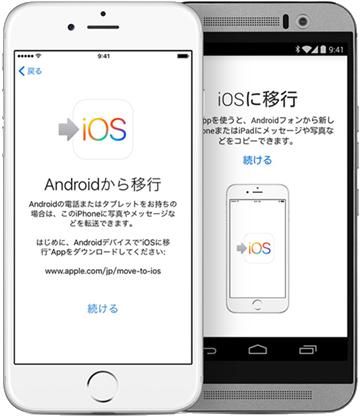 「Move to iOSはデバイスと通信できませんでした」が出た時の対策