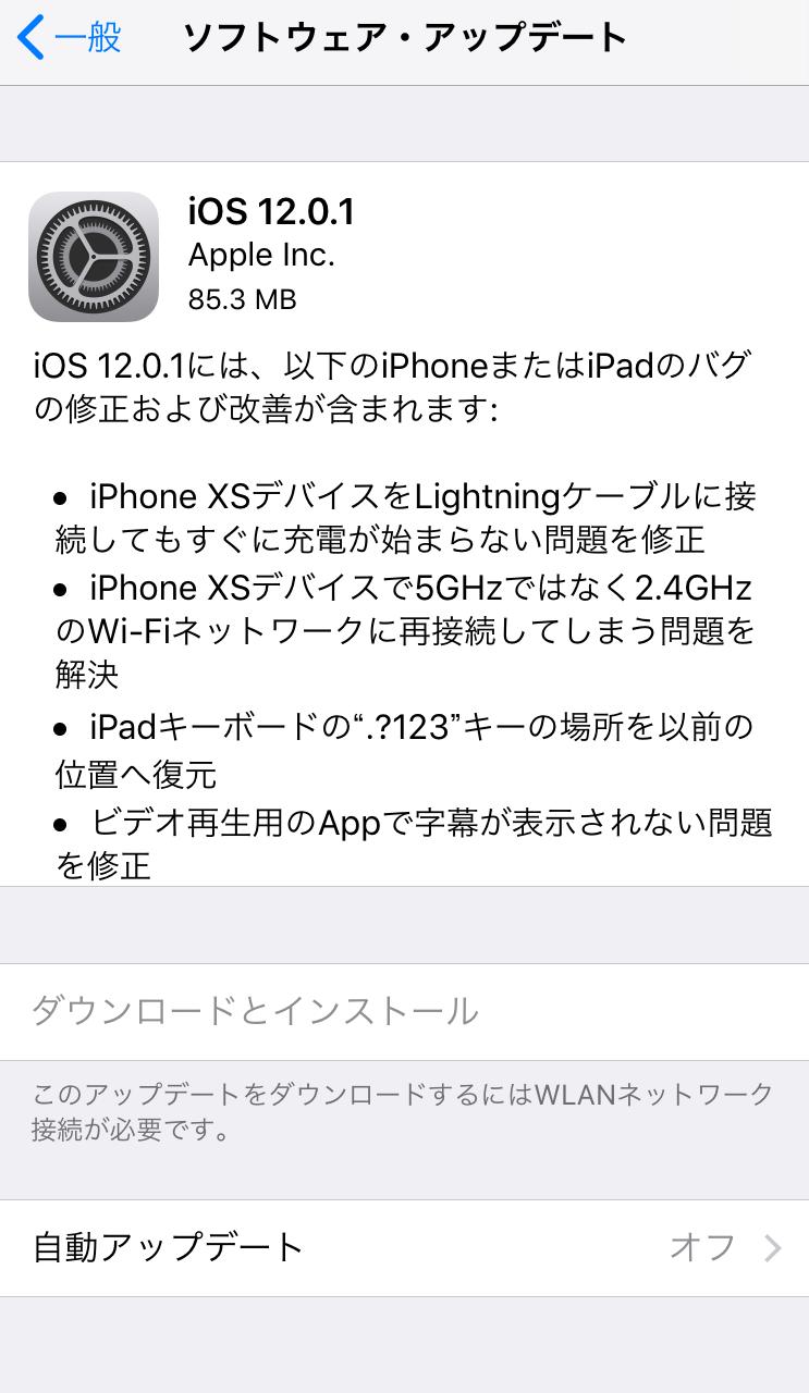 iOS 12でiPhoneの画面録画が保存されない原因と対策 1