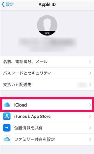 写真元:mag.app-liv.jp -iCloudをタップ