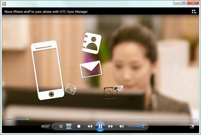 動画をチェックして、Windowsで再生