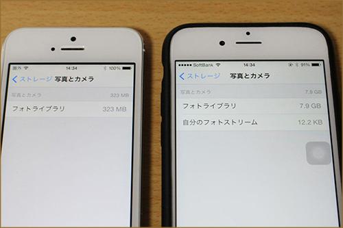 写真元:http://itstrike.biz/apple/ios/18772/ iPhoneの写真容量を小さくできる
