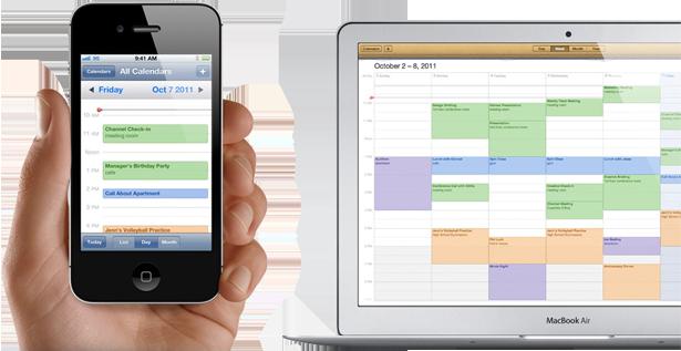 MacからiPhoneへカレンダーを同期するには