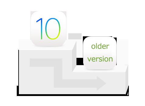 iOS 10からiOS 9.3にダウングレードする方法