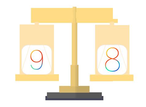 iPhone/iPadを最新iOS 9にアップデートすべきか