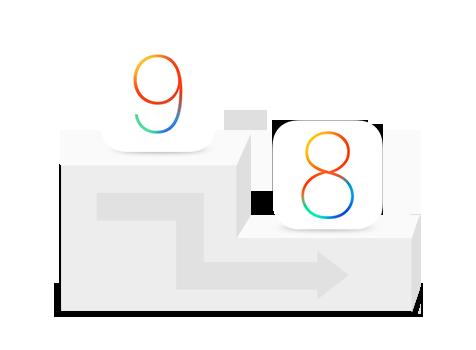 iOS 9からiOS 8にダウングレードする方法