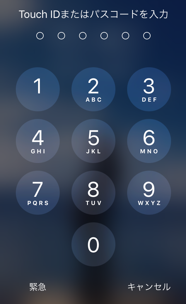 利用中のApple ID及びパスワードを確認する