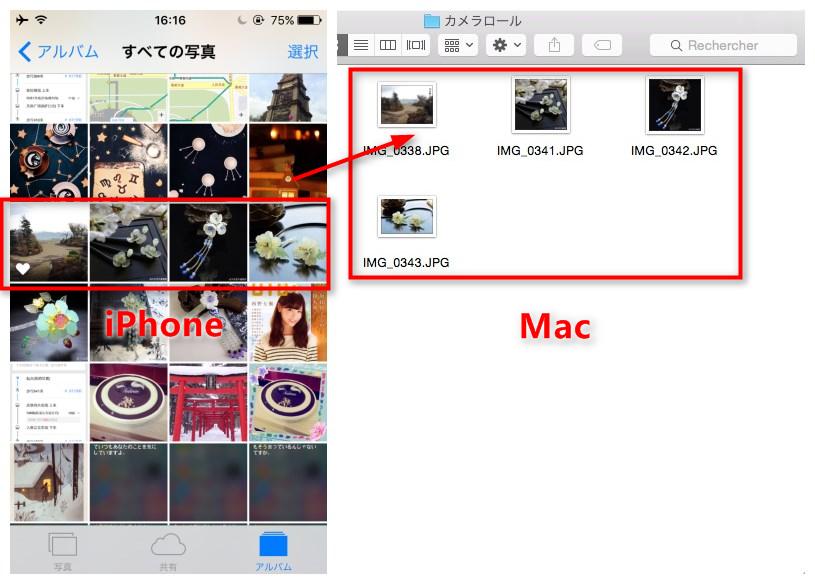AnyTransでiPhoneからMacに写真を保存する