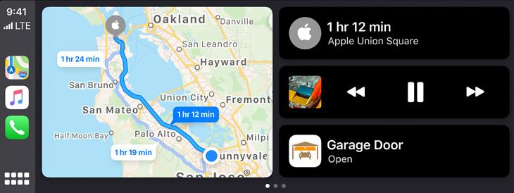 CarPlayのアップデート 写真元:Apple