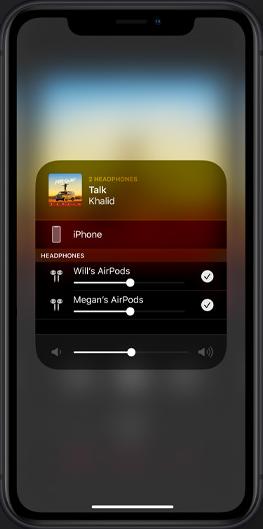 AirPods新機能 写真元:Apple