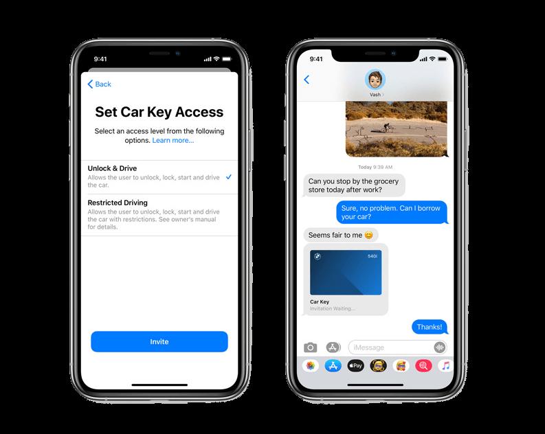 新しいミー文字とメッセージ 写真元:Apple