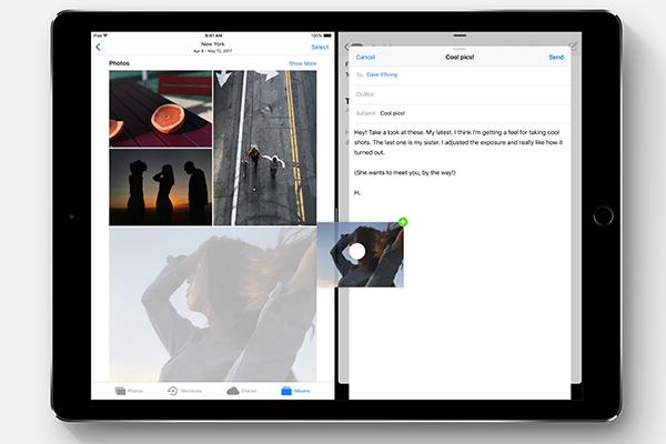 iOS 11の新機能・変更点:ドラッグ&ドロップ