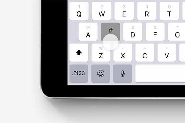 iOS 11の新機能・変更点:QuickTypeキーボードを利用する