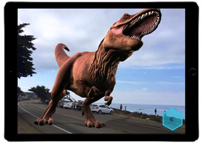 iOS 11の新機能・変更点:AR体験が楽しめる(写真元:japanese.engadget.com)